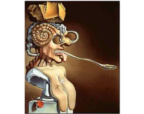 Salvador Dali Picasso Portresi