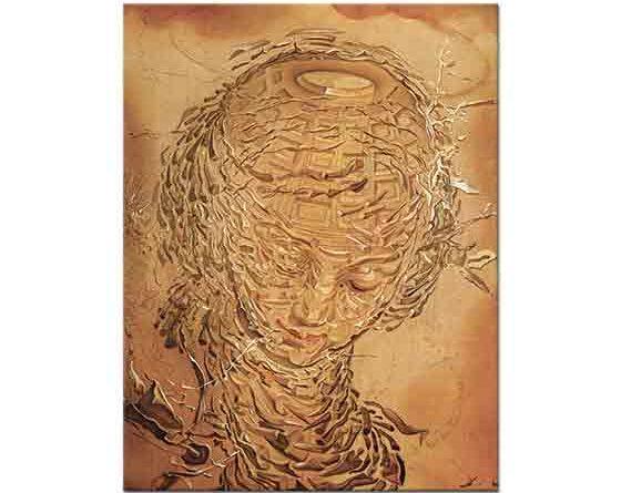 Salvador Dali Rafaelistic Kafanın Dağılışı