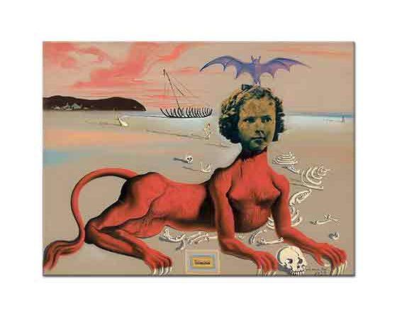 Salvador Dali Shirley Temple Çağdaş Sinemanın en genç Canavarı
