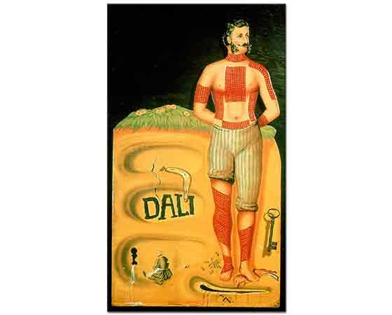 Salvador Dali Sürrealist Poster