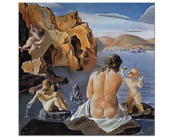 Salvador Dali Venüs ve Aşıklar
