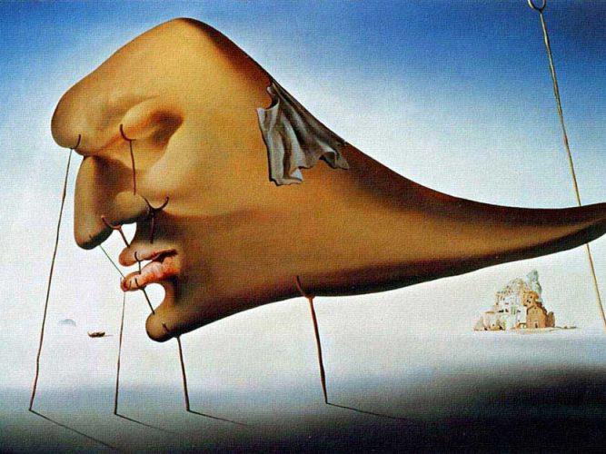 Salvador Dali Uyku tablosu