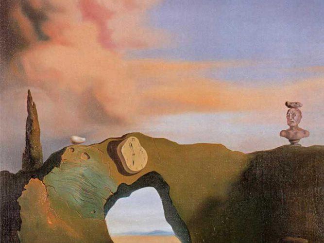 Salvador Dali Üçgen Saatler tablosu