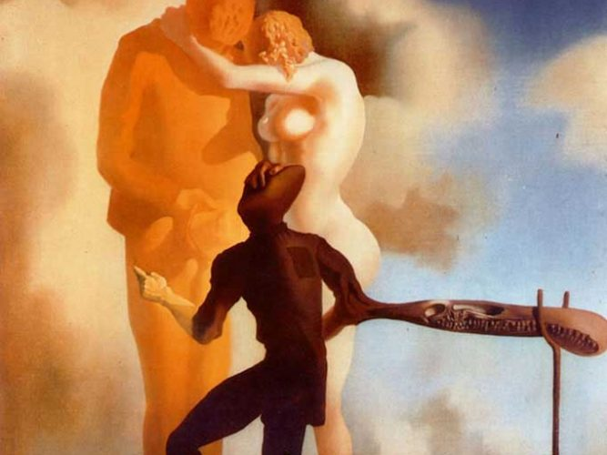 Salvador Dali Arp ile Meditasyon