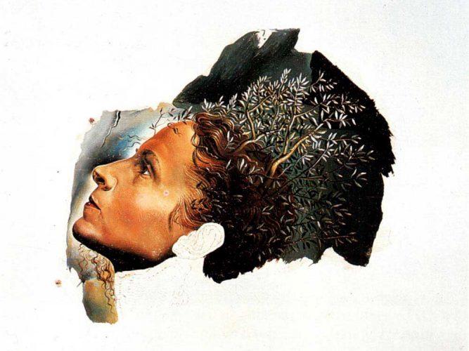 Salvador Dali Gala'nın Portresinin Otomatik Başlangıcı