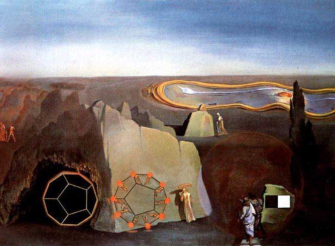 Salvador Dali Dördüncü Boyut Arayışı