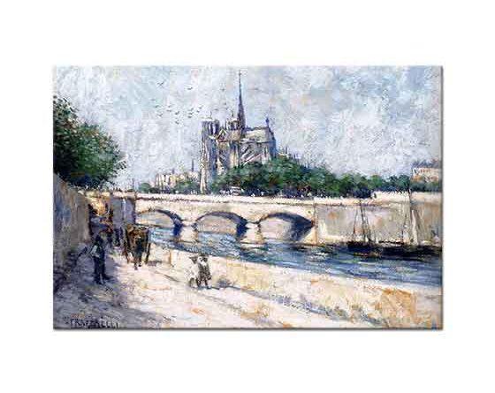 Jean Francois Raffaelli Notre Dame Paris
