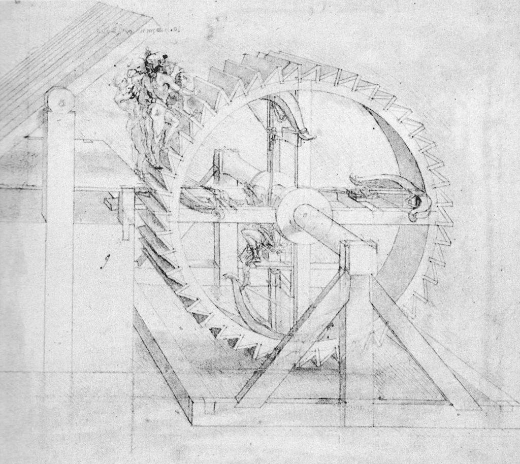 Leonardo Da Vinci Ahşap Dişliler