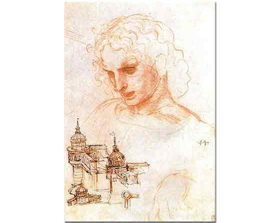 Leonardo Da Vinci Apostles ve Mimari Eskizler
