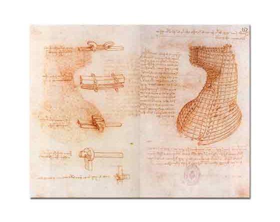 Leonardo Da Vinci At Heykel Çalışması