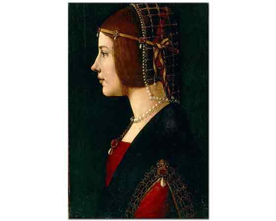Leonardo Da Vinci Beatrice