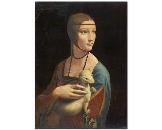 Leonardo Da Vinci Cecilia Gallerani'nin Portresi