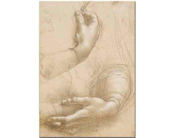 Leonardo Da Vinci El Eskizi Desen