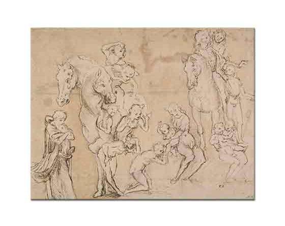 Leonardo Da Vinci Figür Etüdleri