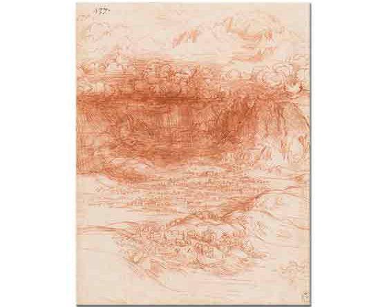 Leonardo Da Vinci Fırtına Etüdü