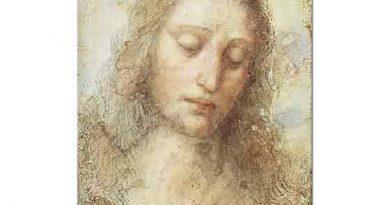 Leonardo Da Vinci Hz Isa'nın Başı etüdü