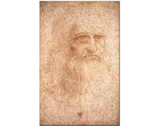 Leonardo Da Vinci Kendi Portresi