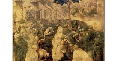Leonardo Da Vinci Kralların Tapınması