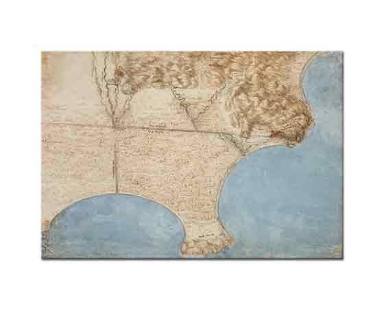 Leonardo Da Vinci Kuş Bakışı Deniz Kıyısı