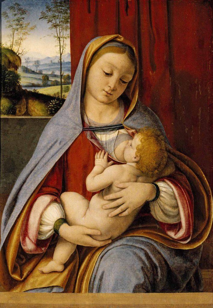 Leonardo Da Vinci Madonna ve Isa