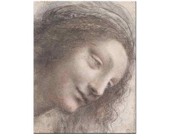 Leonardo Da Vinci Meryem Portresi