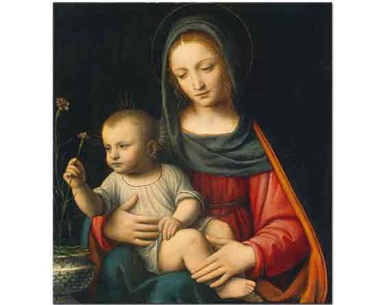 Leonardo Da Vinci Meryem ve Çocuğu