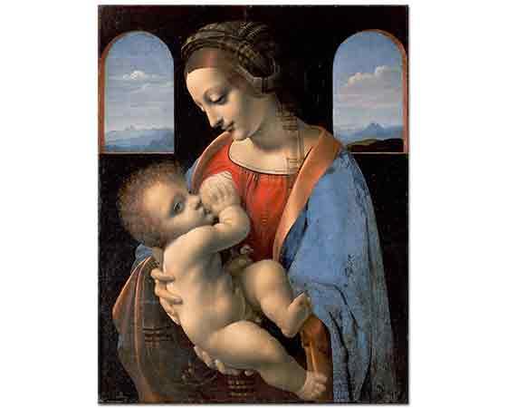 Leonardo Da Vinci Meryem ve Çocuk Isa