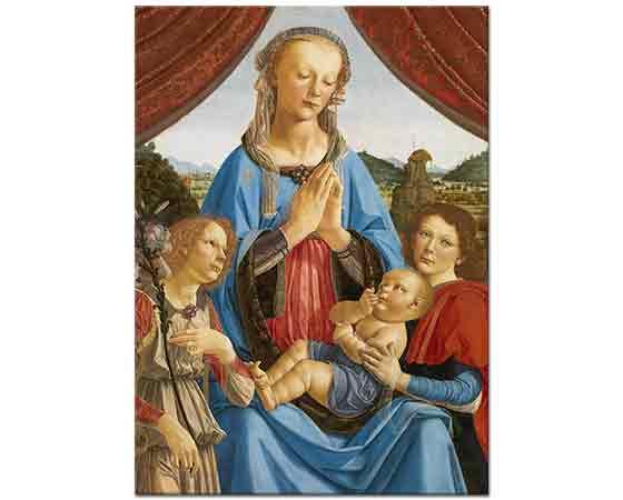 Leonardo Da Vinci Meryem ve Isa