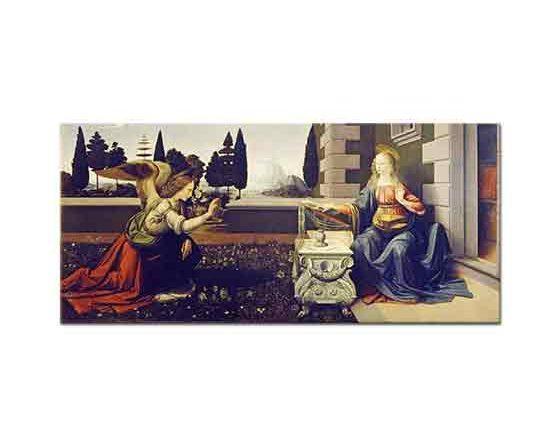 Leonardo Da Vinci Meryem'e Müjde