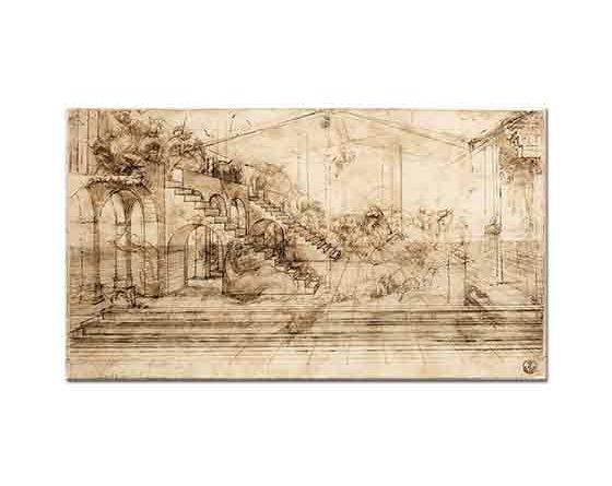 Leonardo Da Vinci Mimari Eskiz