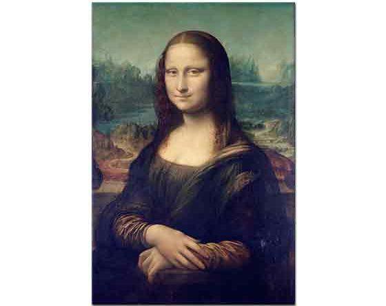 Leonardo Da Vinci Mona Lisa tablosu