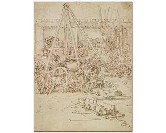 Leonardo Da Vinci Top Dökümhanesi