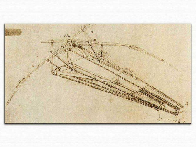 Leonardo Da Vinci Uçan Makina Eskizi
