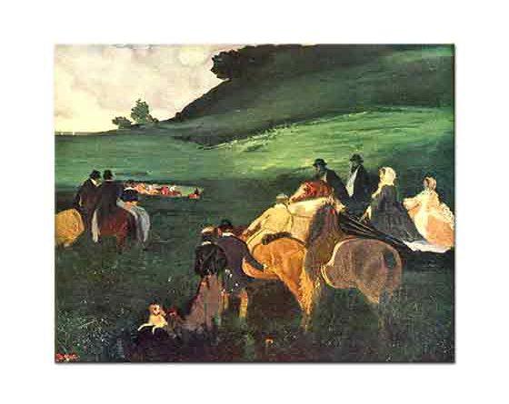 Edgar Degas Ata Binenler