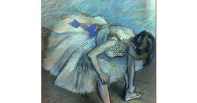 Edgar Degas Ayağına Masaj Yapan Balerin