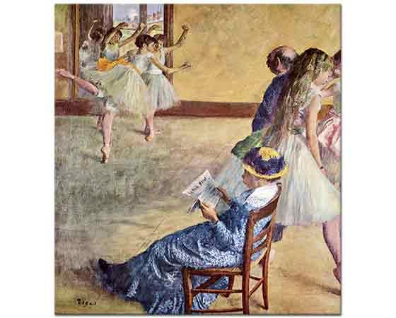 Edgar Degas Bale Sınıfında