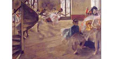 Edgar Degas Bale Sınıfında Prova