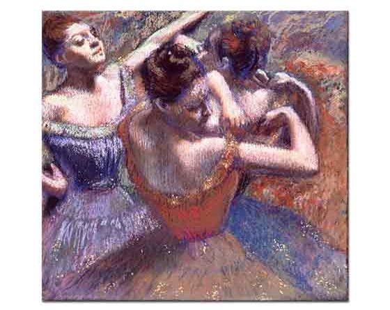 Edgar Degas Balerinlerin Sahne Hazırlığı