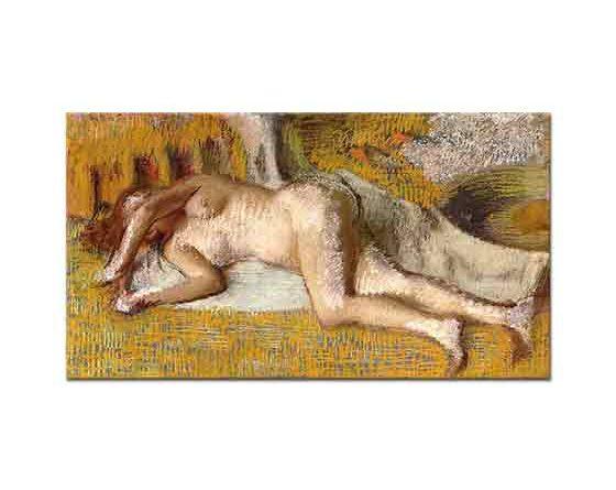 Edgar Degas Banyo Sonrası Dinlenme