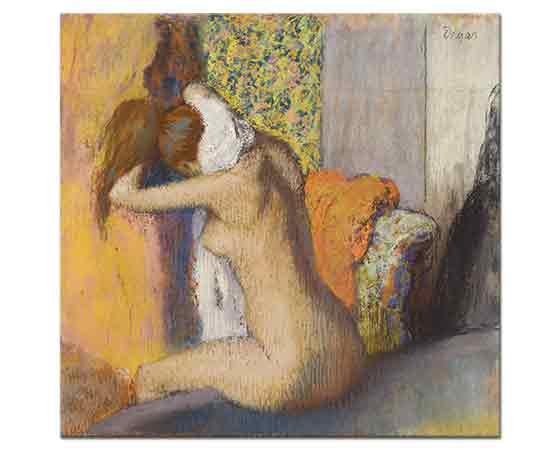Edgar Degas Banyo Sonrası Kurulanma