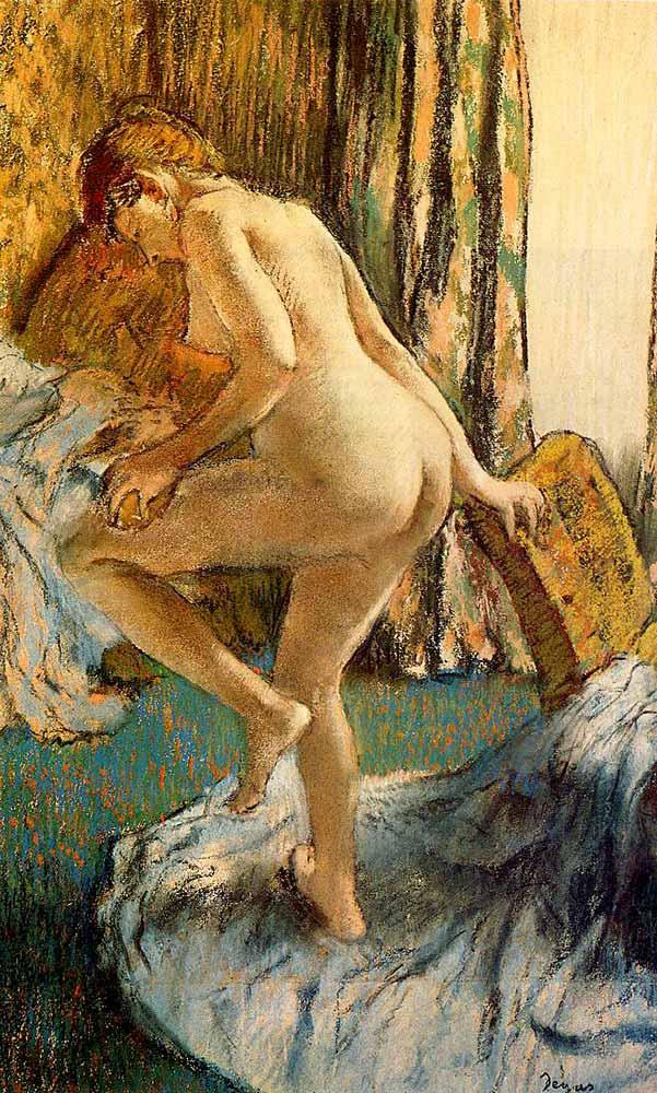 Edgar Degas Banyo Sonrası