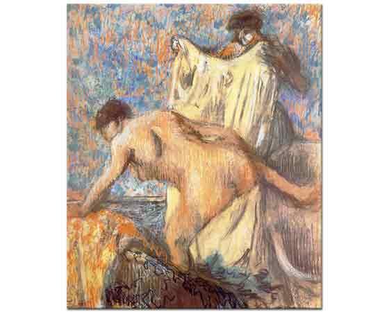 Edgar Degas Banyo Sonrası Kurulama