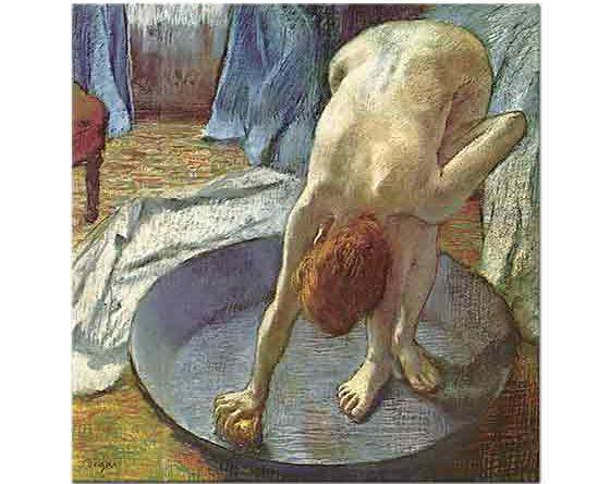 Edgar Degas Banyoda Kadın