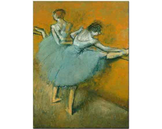 Edgar Degas Barda Balerinle