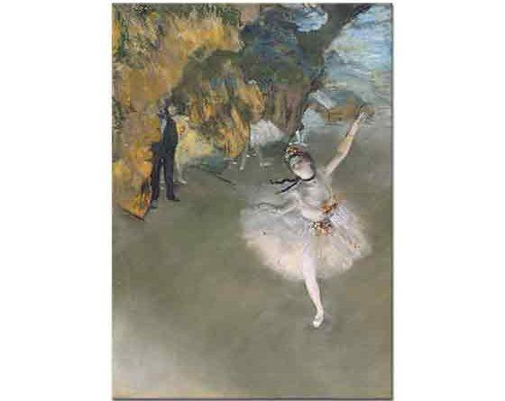 Edgar Degas Baş Balerin