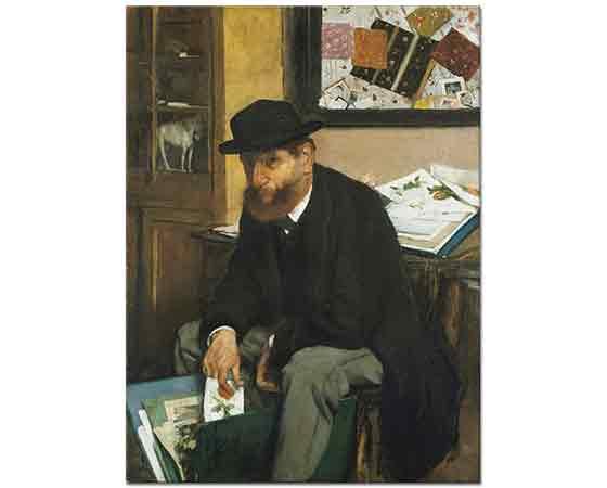 Edgar Degas Baskı Koleksiyoncusu