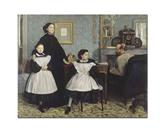 Edgar Degas Bellelli Ailesi