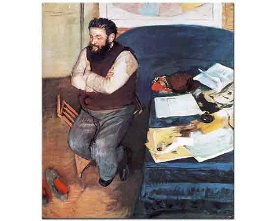 Edgar Degas Diego Martelli