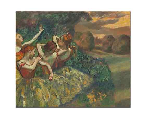 Edgar Degas Dört Balerin