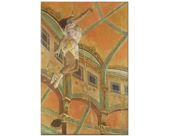 Edgar Degas Fernando Sirkinde Trapez